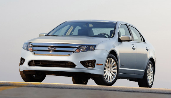 2010 Ford Fusion Hybrid - Click above for high-res image gallery According