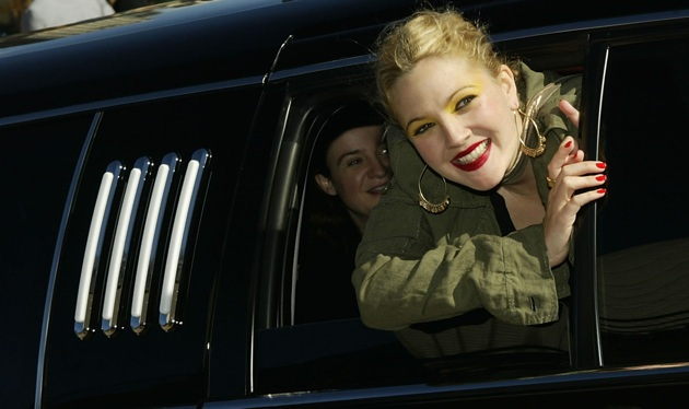 Drew Barrymore first to race Ford Focus EV on Leno's new show thumbnail