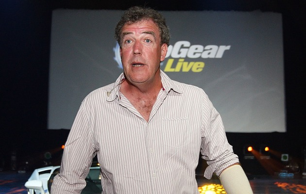 Environmentalists treat Jeremy Clarkson's driveway to a steaming pile of manure thumbnail