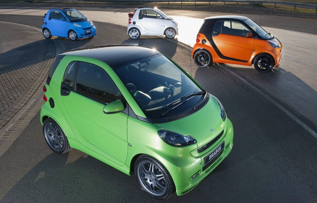 Frankfurt 2009: smart BRABUS tailor made concept goes rainbow-tastic thumbnail
