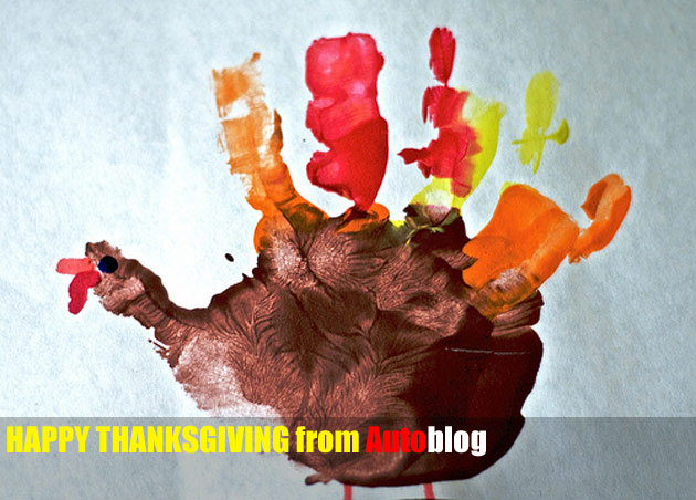 Happy Thanksgiving! Autoblog is grateful for… thumbnail