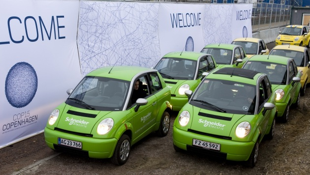Hopenhagen brings eco-cars to Denmark for climate change conference thumbnail