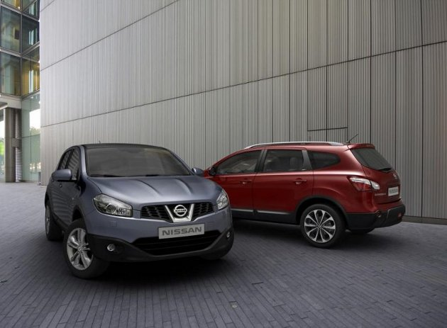Nissan announces 2010 facelift for the Qashqai, includes low-CO2 version thumbnail