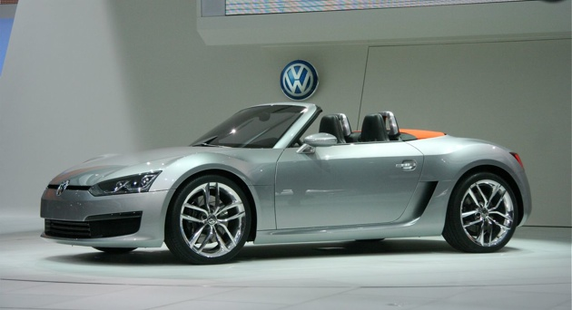 Report: VW to make a decision on building the BlueSport Roadster soon thumbnail