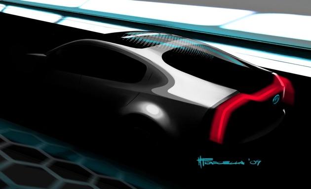 Chicago Preview: Kia teases plug-in hybrid concept called Ray thumbnail