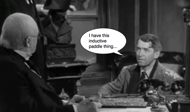It's Friday: George Bailey's electric car runs out of juice thumbnail