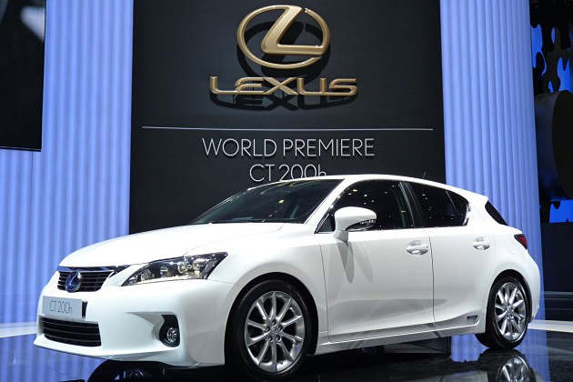 Filed under: Hybrid , Lexus , New York Auto Show Lexus CT 200h - Click above