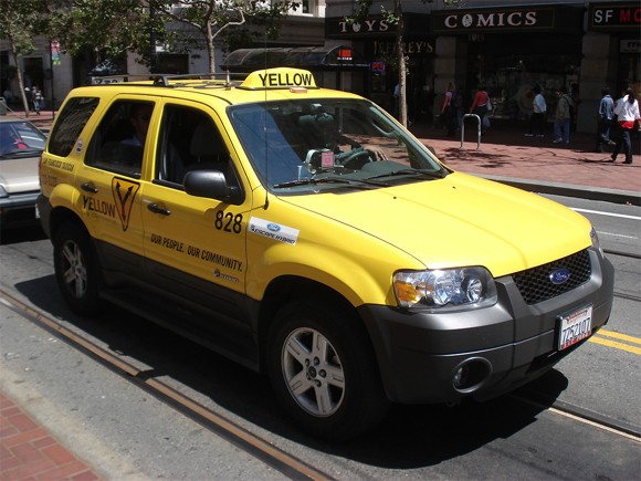 San Francisco's green taxi fleet and how it got there thumbnail