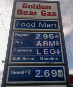 Former Shell boss predicts $5/gal gas in 2012 thumbnail