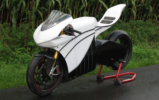 Project7 X01 electric superbike to use axial flux in TTXGP attack thumbnail