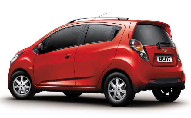 Filed under: Chevrolet , GM , Natural Gas , India 2010 Chevrolet Beat for