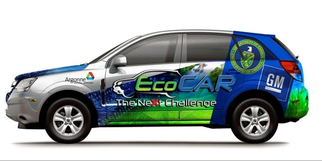 EcoCar finals get underway at General Motors' Milford Proving Grounds thumbnail