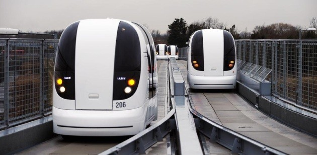 Driverless ULTra electric podcars already cutting emissions at London's Heathrow Airport thumbnail