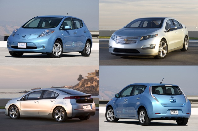 Electric Superiority: Nissan Leaf sales hit 931, Chevy Volt at 125 in July thumbnail