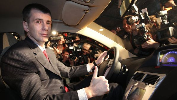 Prokhorov's Yo-auto will sell Russia's first hybrids by end of 2012 thumbnail