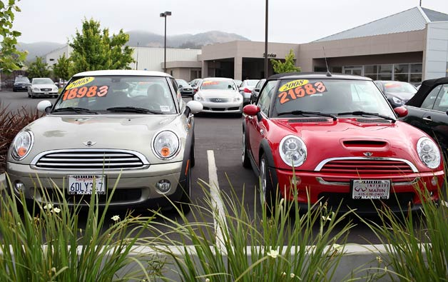 Values of small used cars fall in lockstep with gas prices thumbnail