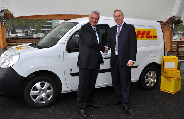 DHL orders at least 50 Renault EVs by 2015 thumbnail