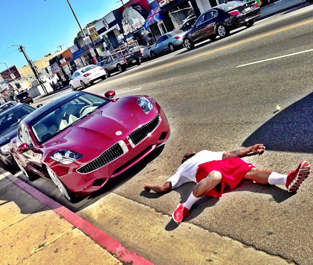 Official: The Game buys four Fisker Karmas for himself, friends thumbnail