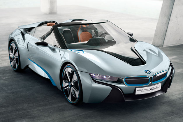 Official: BMW i8 Roadster named Best Production Preview Vehicle thumbnail