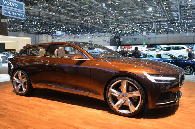 Report: Volvo Concept Estate to spawn V90 luxury wagon, joining CUV and coupe thumbnail