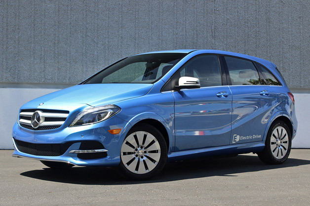 First Drive: 2014 Mercedes-Benz B-Class Electric Drive thumbnail