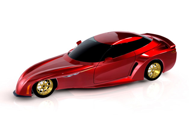 Official: DeltaWing offers up four-seater concept thumbnail