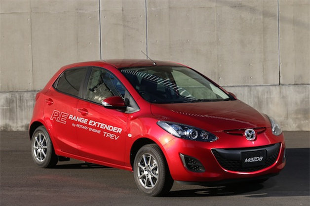 Report: Will the Mazda2 be offered as a PHEV with a rotary engine range extender? thumbnail