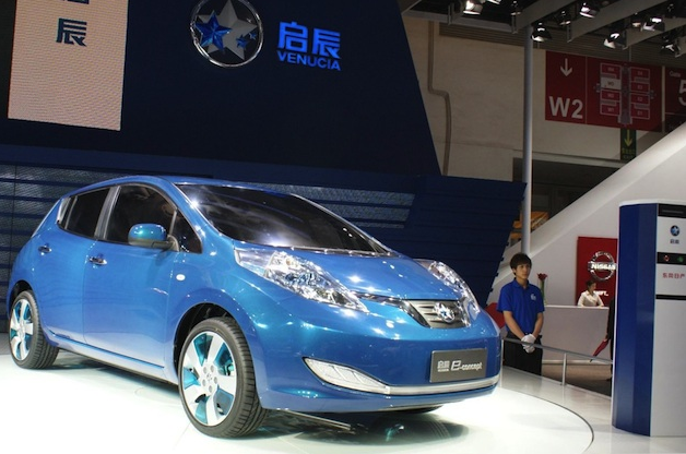 Official: Nissan-Dongfeng's Leaf-based Venucia e30 EV goes on sale in China thumbnail