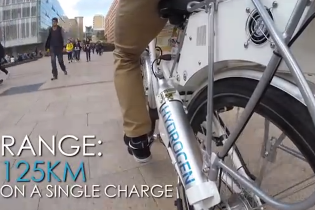 Official: Say hello to Hy-Cycle, Australia's first hydrogen fuel cell bicycle thumbnail
