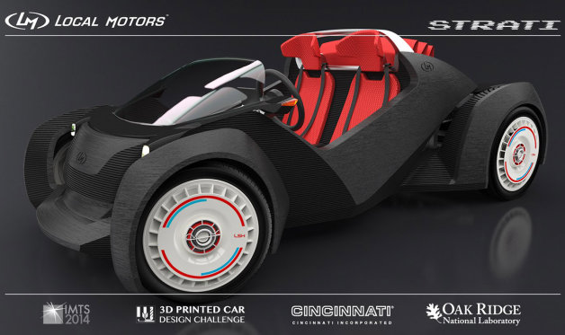 Recharge Wrap-up: Local Motors begins 3D printing Strati car, global liquid fuel use to increase 38% by 2040 thumbnail