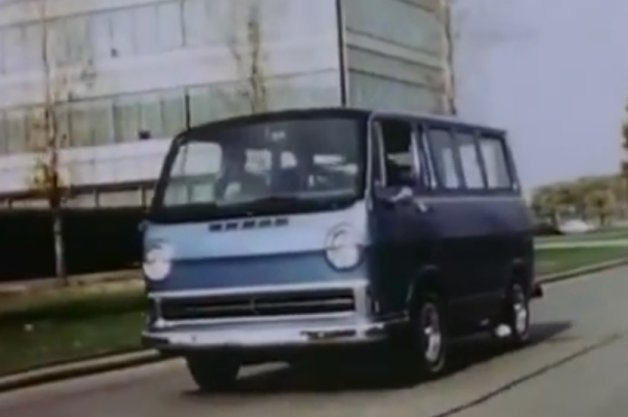Video: There's a familiar ring to this 1966 video of GM's hydrogen ElectroVan thumbnail