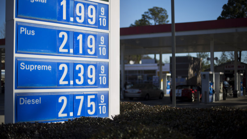 US gas prices may climb back up in mid-February thumbnail