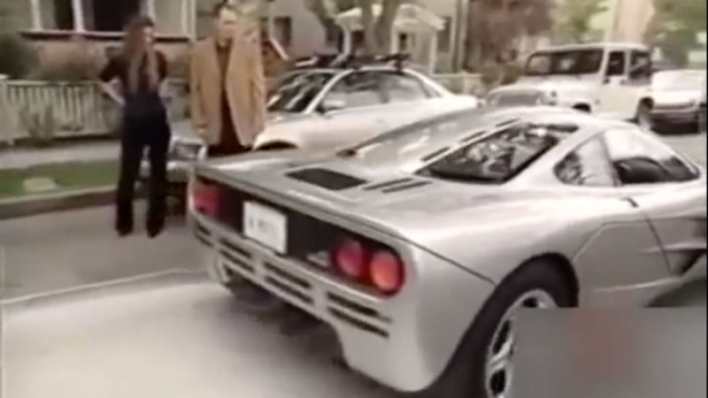Watch a young Elon Musk take delivery of his McLaren F1 thumbnail