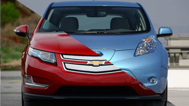 Since 2010, Chevy Volt has outsold Nissan Leaf by just two units thumbnail