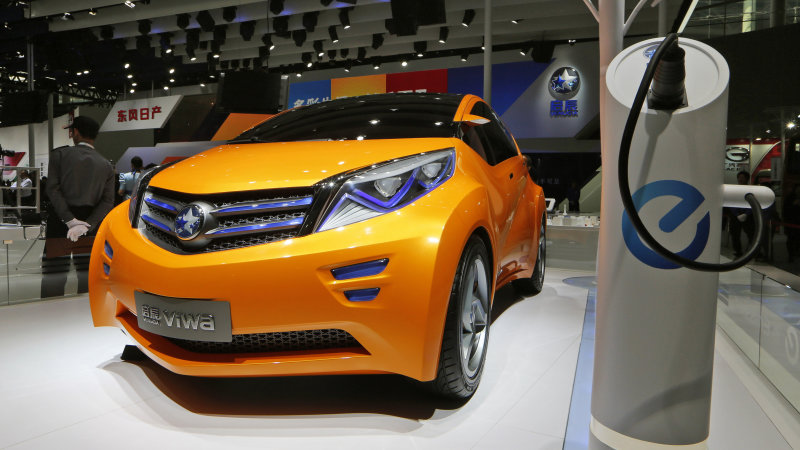 China sticking to its guns on EVs for the future thumbnail