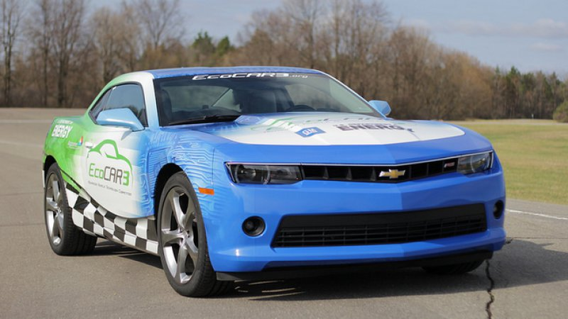 A Chevy Camaro hybrid? That's what EcoCAR3 could bring thumbnail