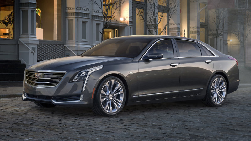 Cadillac CT6 gets a plug in Shanghai, will come to US thumbnail
