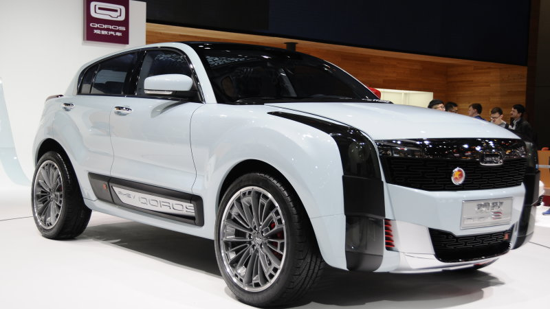 Qoros 2 SUV PHEV concept shows a promising way forward in Shanghai thumbnail