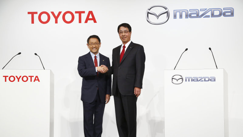 Mazda and Toyota formally announce plans to 'make cars better' thumbnail