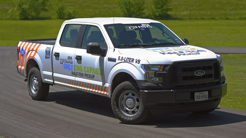 2016 Ford F-150 gets propane, CNG conversions thumbnail