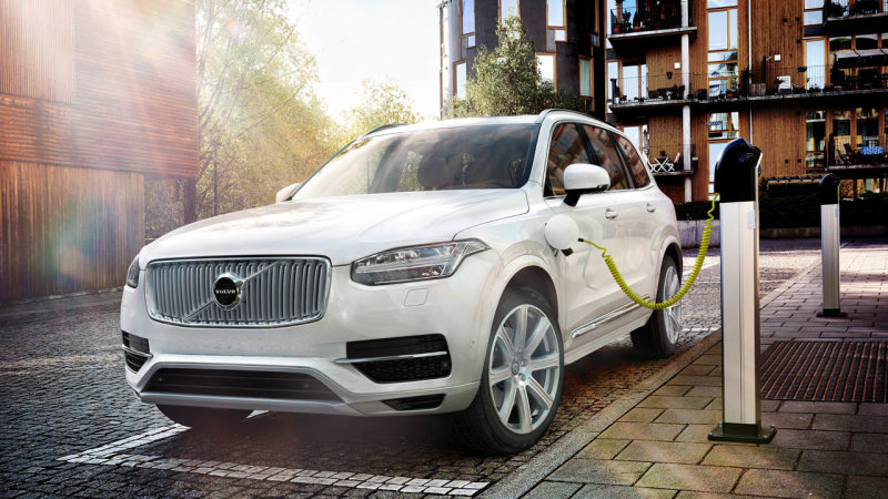 Volvo's new XC90 SUV plug-in hybrid gets 112 mpge thumbnail