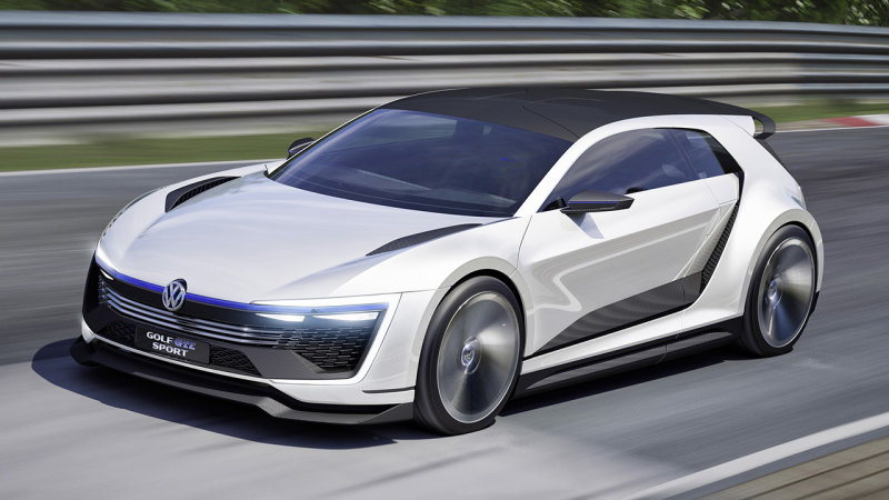 Volkswagen Golf GTE Sport Concept debuts at Worthersee thumbnail