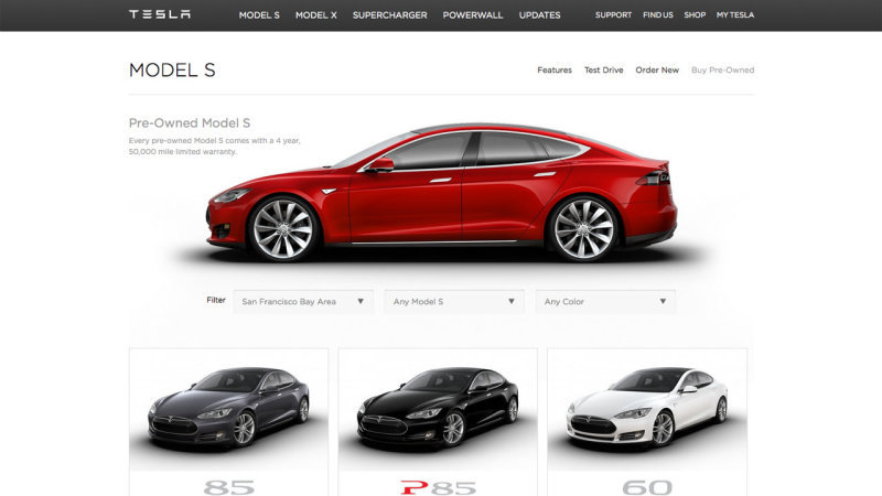 CPO Tesla Model S EVs can be had for around $55,000 thumbnail