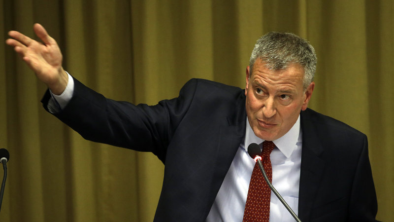 NYC mayor de Blasio says no to Uber's call to debate thumbnail