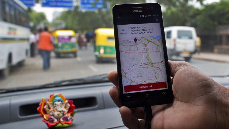 Report: Ride-hailing service Uber to put $1 billion in India thumbnail