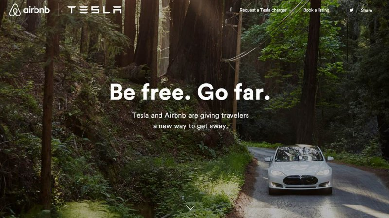Tesla will give free chargers to 100 Airbnb hosts thumbnail