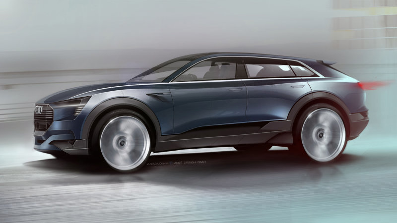 Audi will show all-electric 'sporty SUV' in Frankfurt thumbnail