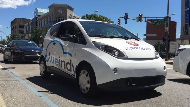 Indianapolis' BlueIndy carsharing could expand to other US cities thumbnail
