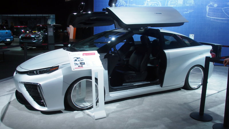Toyota Mirai Back To The Future edition swings its doors wide open thumbnail