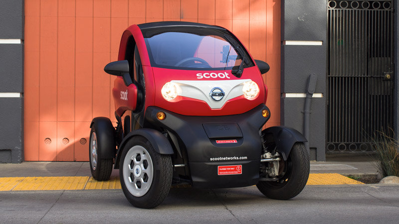 The Scoot Quad is Nissan's small step toward EV car sharing thumbnail